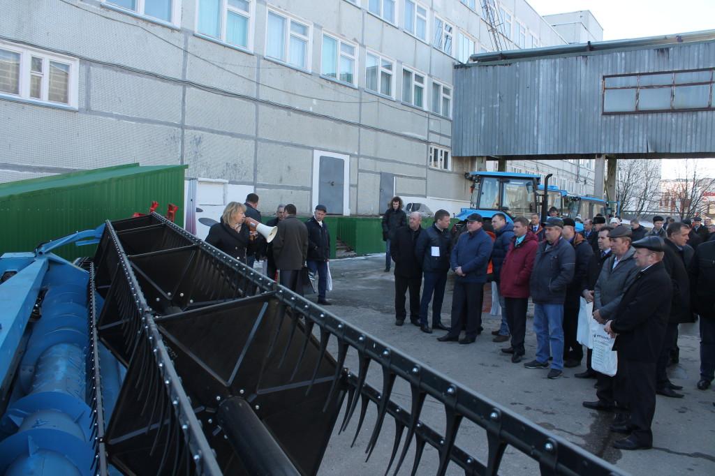 В Нижегородской области прошла презентация сельскохозяйственной техники АГРОМАШ