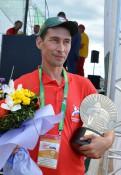 Двукратный чемпиона России по пахоте Вавдим ЗАРЕЦКИХ