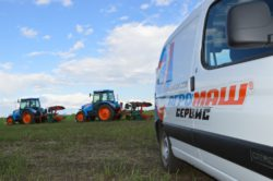 Лучшие пахари состязаются на тракторах АГРОМАШ 85ТК
