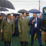 Министры сельского хозяйства России и Китая посетили экспозицию техники АГРОМАШ