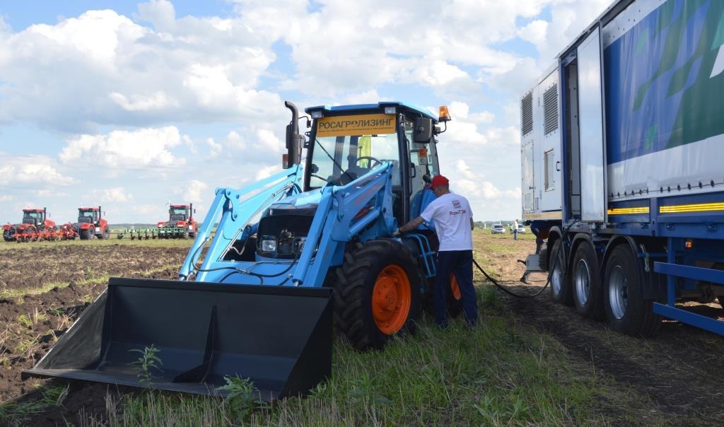 Во Владимире сервисные специалисты обучались диагностике двигателей газомоторных тракторов АГРОМАШ МЕТАН