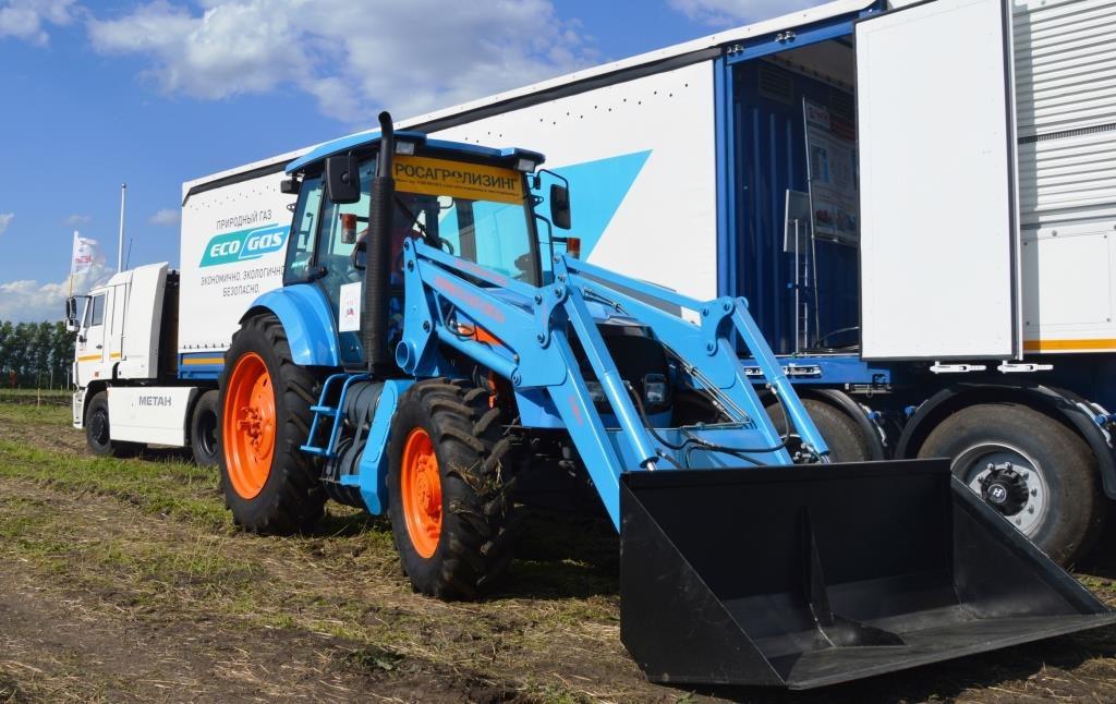 Тракторы линейки АГРОМАШ МЕТАН: экологичность – хорошо, экономичность – еще лучше